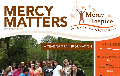 Mercy Matters Spring / Summer newsletter now available